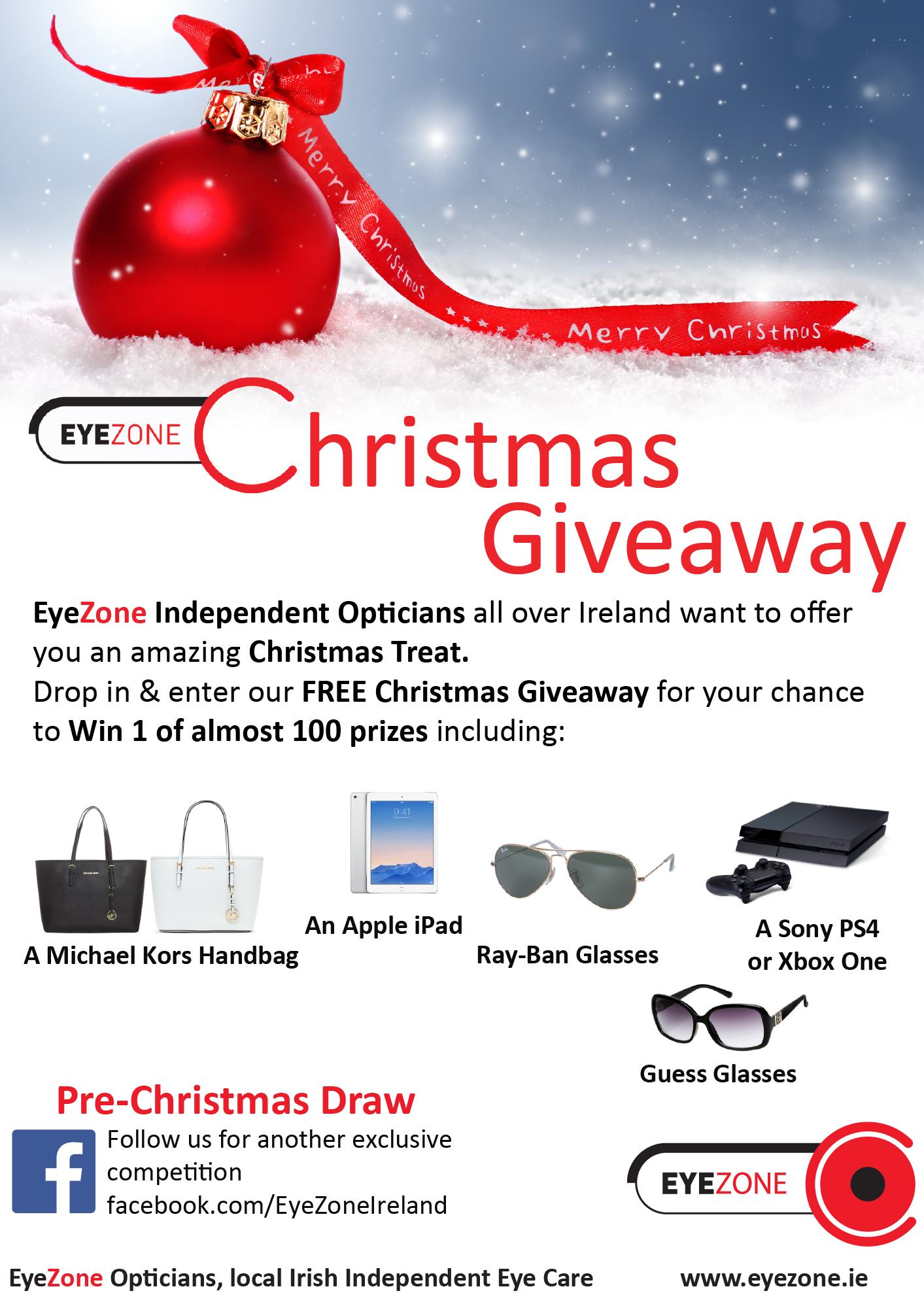 Eyezone Christmas Giveaway